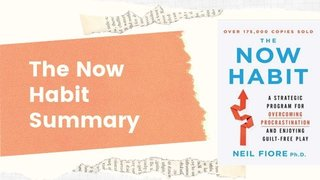 the now habit summary image