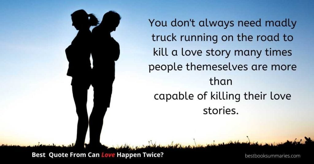can love happen twice quote